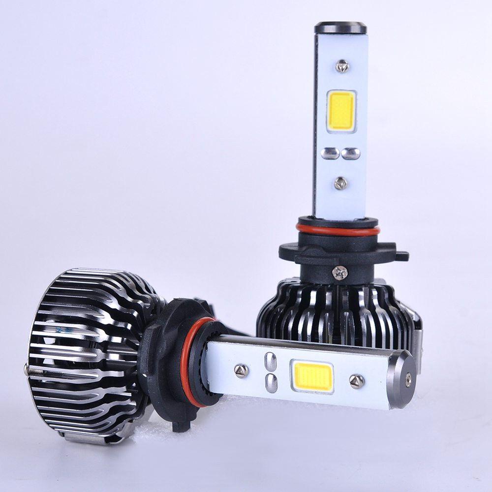 h7 ampoules pack leds ventil 80w led lighting. Black Bedroom Furniture Sets. Home Design Ideas