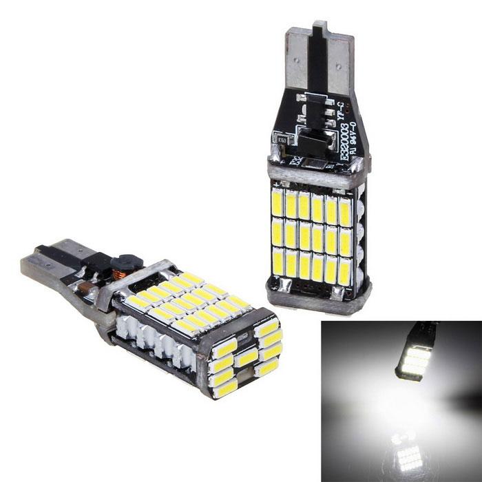 1 ampoule t15 culot w16w haute puissance 1000lm led lighting. Black Bedroom Furniture Sets. Home Design Ideas