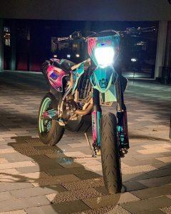 h4 moto husqvarna supermotard