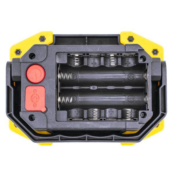 coté batterie projecteur