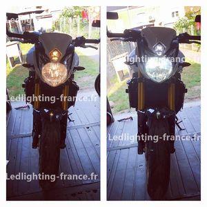 h4 led moto