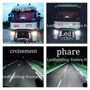 kit led h7 camion